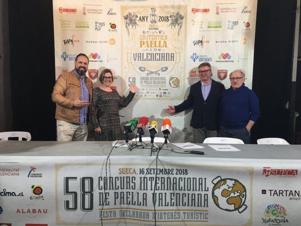 Presentació 58 Concurs Internacional de Paella Valenciana de Sueca